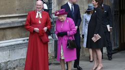 Royal Family Attends Easter Service Without Princes Philip Or