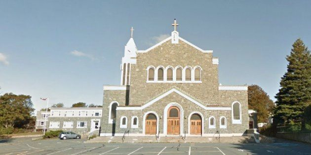 St. Agnes Church in Halifax was vandalized on Saturday
