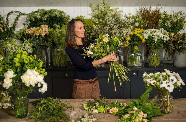 Florist Philippa Craddock.