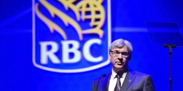 Royal Bank president David McKay speaks at the Royal Bank of Canada annual meeting in Toronto on April...