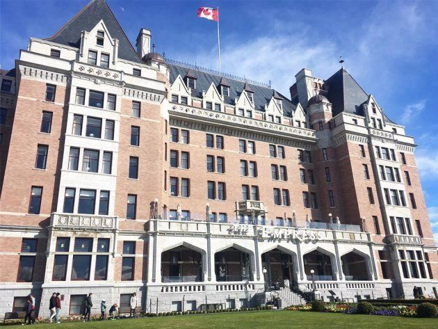 The Fairmont Empress hotel in Victoria has graciously forgiven a guest who years ago destroyed a room...