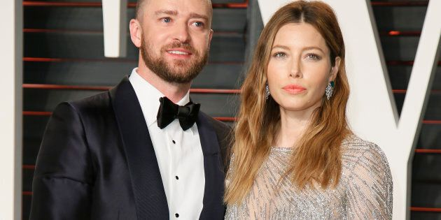 Justin Timberlake and Jessica