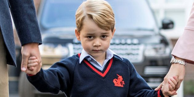 Prince George will be the oldest of three royal children after the Duchess of Cambridge gives birth this