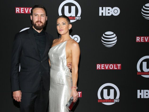 Kate Hudson and Danny Fujikawa at the 21st Annual Urbanworld Film Festival on September 23, 2017 in New York City.