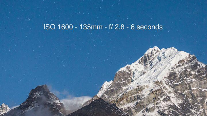 Mount Lobuche from the village of Pheriche, Nepal