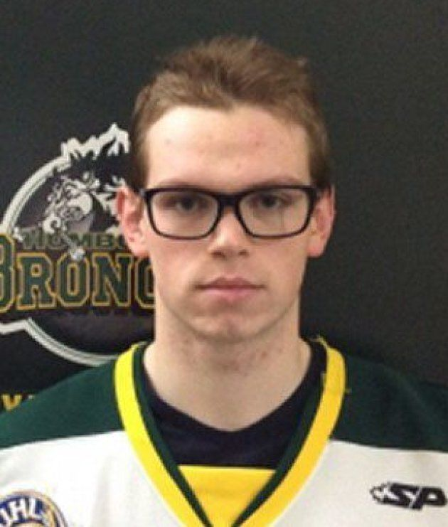 Humboldt Broncos goaltender Parker Tobin is shown in an undated team