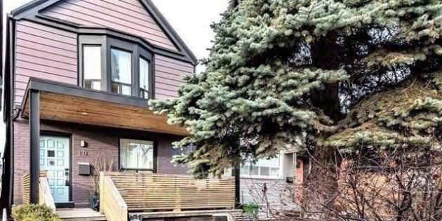 A Toronto house once rented by actor Meghan Markle is shown in a handout photo. The home reportedly sold...