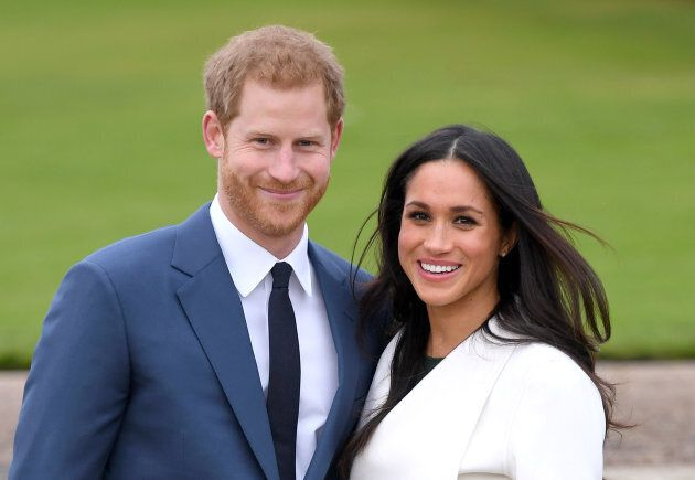 The REAL Prince Harry and Meghan Markle.