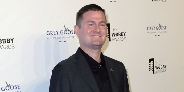 Pat Quinn, co-founder of the ALS Ice Bucket Challenge attends the Webby Awards in New York City on May...