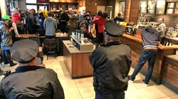 Starbucks Is 'Anti-Black,' Protesters Chant After