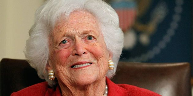 Former first lady Barbara Bush has died at age