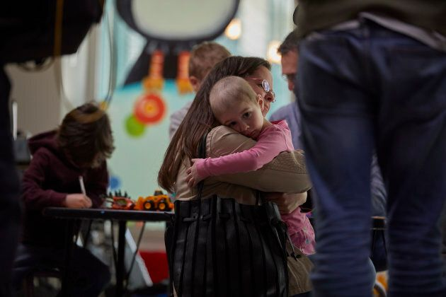 Tammy McInerney with her daughter, Jordan at The Hospital for Sick Children.