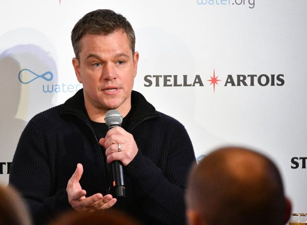 Water.org co-founder Matt Damon.