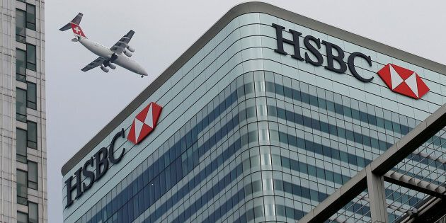 HSBC's headquarters in Canary Wharf, London, U.K. The bank says it will no longer finance new projects...