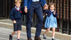 Prince George And Princess Charlotte Meet Their New Baby