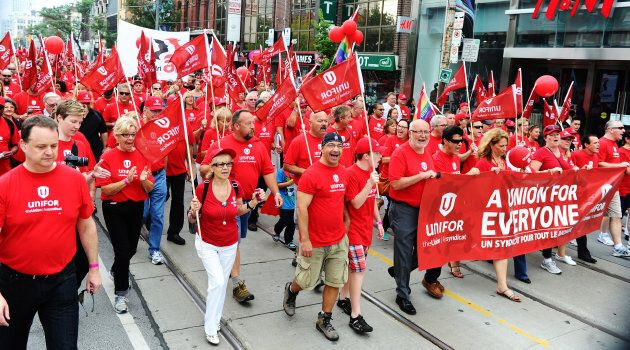 The annual Labour Day Parade on September 2, 2013.
