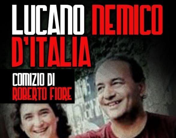 Forza Nuova annuncia una manifestazione contro Lucano davanti alla Sapienza, la protesta: