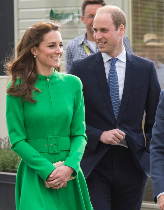The duke and duchess attend Chelsea Flower Show press day at Royal Hospital Chelsea on May 23, 2016.