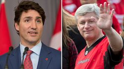 Trudeau Just Can't Get Harper Out Of His Head: