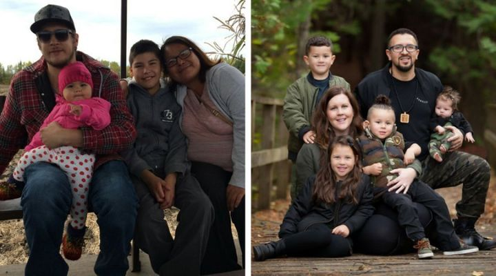 The Mendowegan and Segura families are participants in Ontario's basic income pilot project.