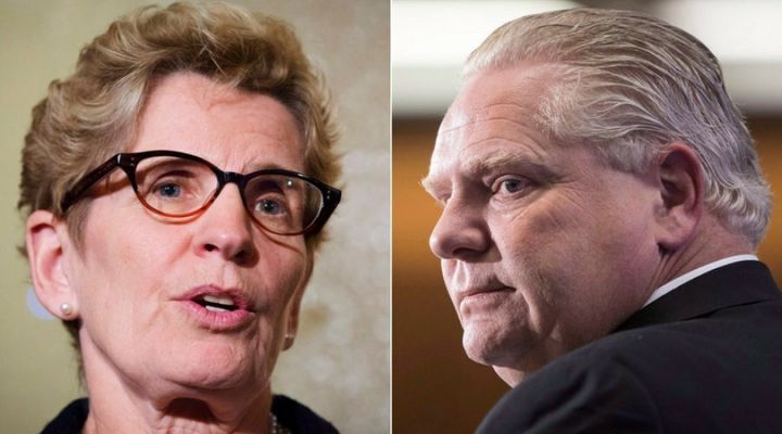 Ontario Premier Kathleen Wynne introduced the basic income project, and a spokesperson for Conservative Leader Doug Ford said he would continue it if elected in June.