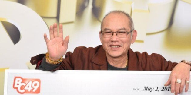 Ping Kuen Shum bought a lottery ticket on his birthday, which was also the day he retired. He won $2