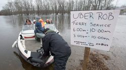 3 Cheers For 'Uber Rob' For Ferrying People Stranded By N.B.