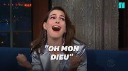 Anne Hathaway très émue par sa rencontre avec