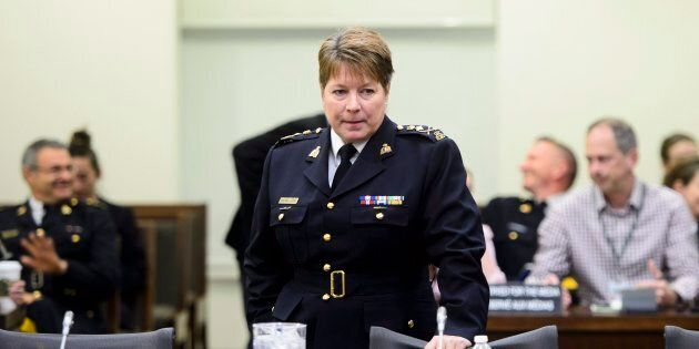 New RCMP Commissioner Brenda Lucki appears at a House of Commons Standing Committee on Public Safety...