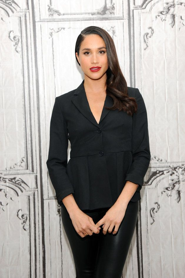Meghan Markle at AOL Build in New York on March 17, 2016.