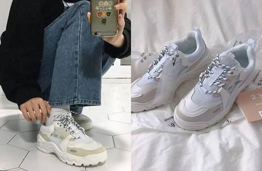 2019韓國新款老爹鞋