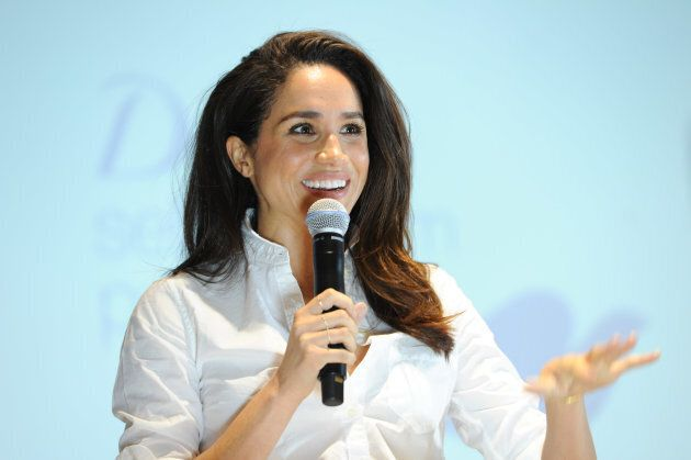 Actress and United Nations Women's Advocate, Meghan Markle attends the Dove Self-Esteem Project event...