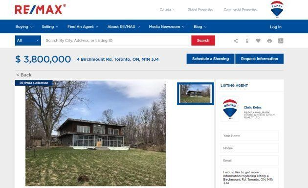 'Probably Toxic' Toronto Mansion Hits The Market At