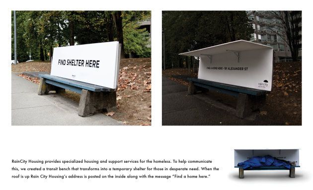 Spring Advertising designed five transit benches in Vancouver as part of a month-long campaign to raise...