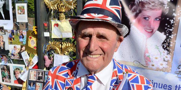 Royal superfan Terry Hutt.
