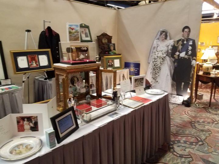 John Hoatson's royal collection.