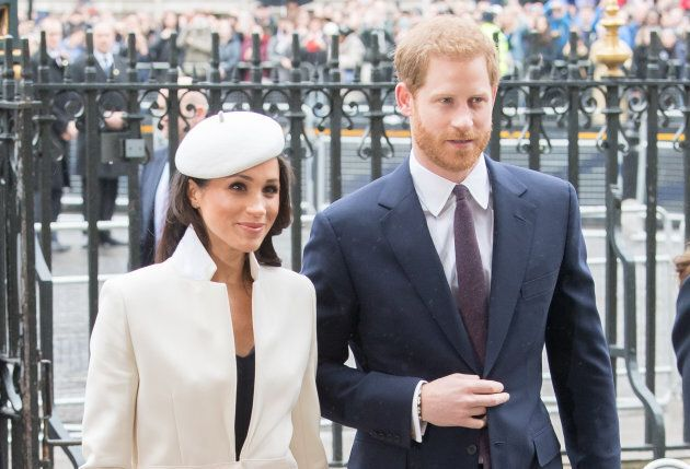 Meghan Markle and Prince Harry attend the 2018 Commonwealth Day service on March 12, 2018.