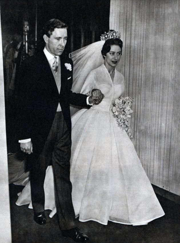 Antony Armstrong-Jones, 1st Earl of Snowdon marries Princess Margaret,