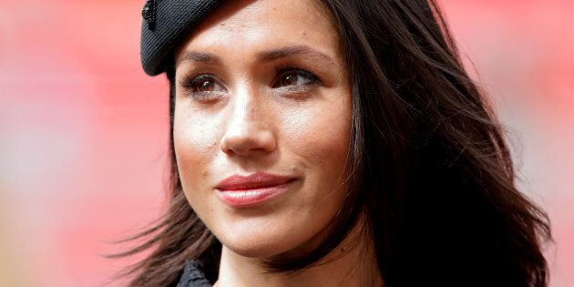 Meghan Markle attends an Anzac Day Service of Commemoration and Thanksgiving at Westminster Abbey on...