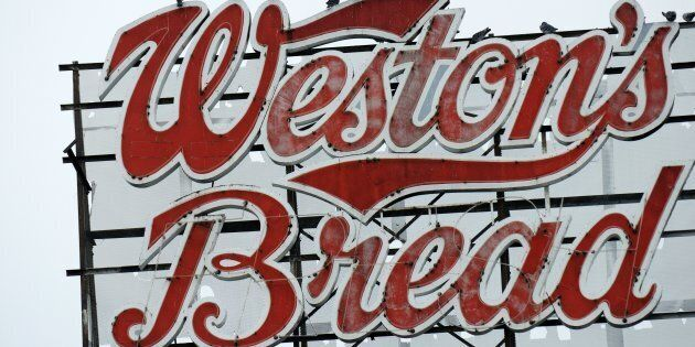A Weston's Bread factory sign in Kitchener, Ont., Nov. 24 2011. Walmart Canada Corp. says it's cutting...