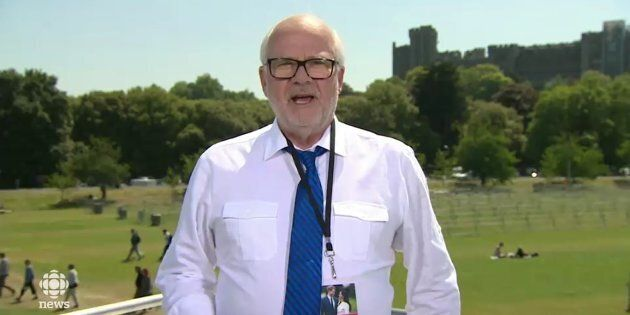 Leave It To Peter Mansbridge To Explain Why The Royal Wedding