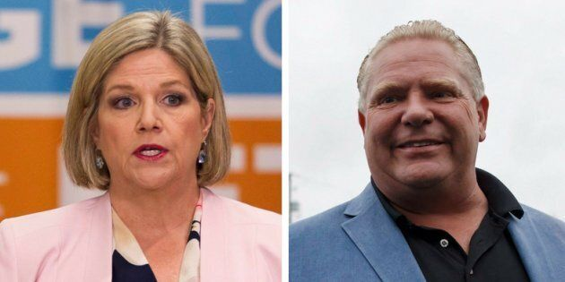 Abacus Data says its surveys show Doug Ford is most likely to become Ontario's next premier, although...