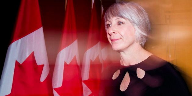 Patty Hajdu, Minister of Employment, Workforce Development and Labour, arrives for the Liberal cabinet...