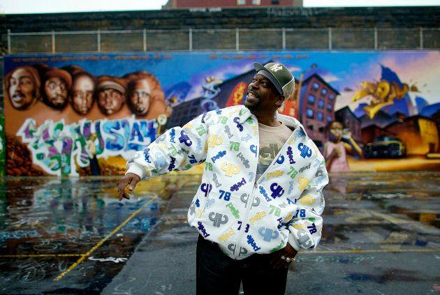 GrandMaster Caz in Harlem.