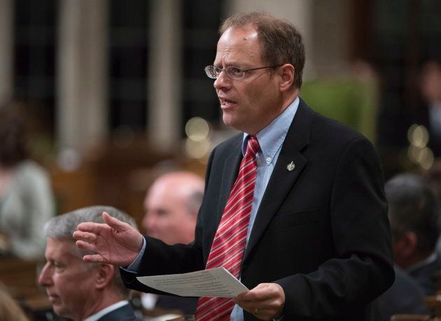 Liberal MP Kevin Lamoureux responds to a question during Question Period in the House of Commons in Ottawa...