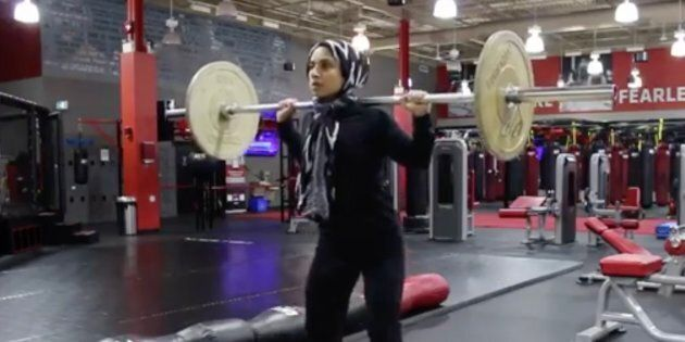Saman Munir, who has a big following online for both her hijab beauty tutorials and her workout videos,...