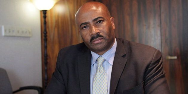 File photo of Don Meredith seen during an interview in Toronto with The Canadian Press on March 16,