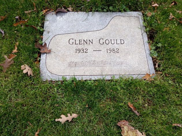 Gould's final resting place at Mount Pleasant