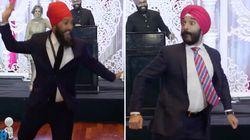 Jagmeet Singh, Navdeep Bains Face Off On The Dance