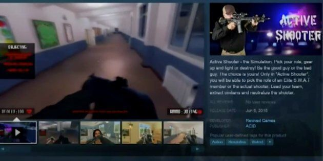 Florida School Shooting Victims' Parents Condemn 'Active Shooter' Video